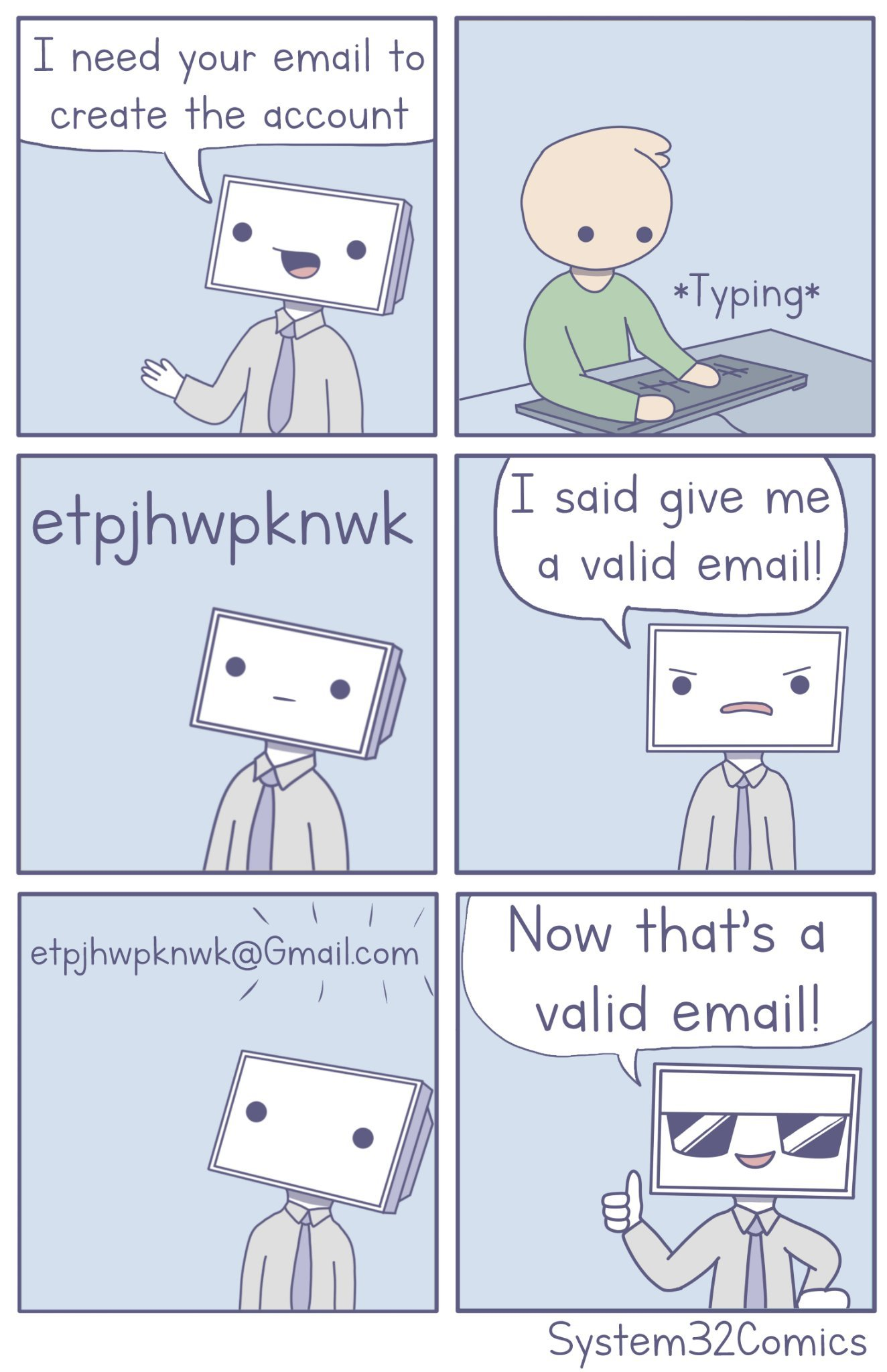 I need your email - meme