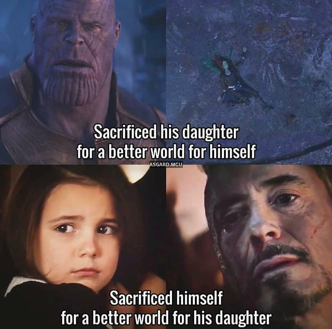 IRON MAN SHOULD'VE LIVED ;( - meme