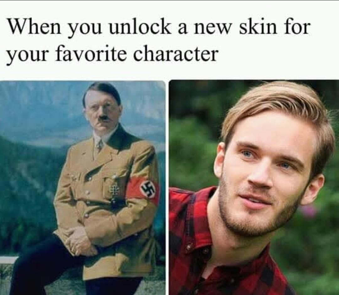 New skin - meme