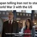 Hiroshima flashbacks.