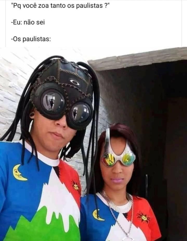 Pior que isso, só bahiano morando no Rio - meme