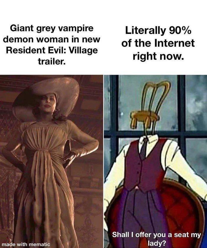 Big Vampire Tiddies - meme