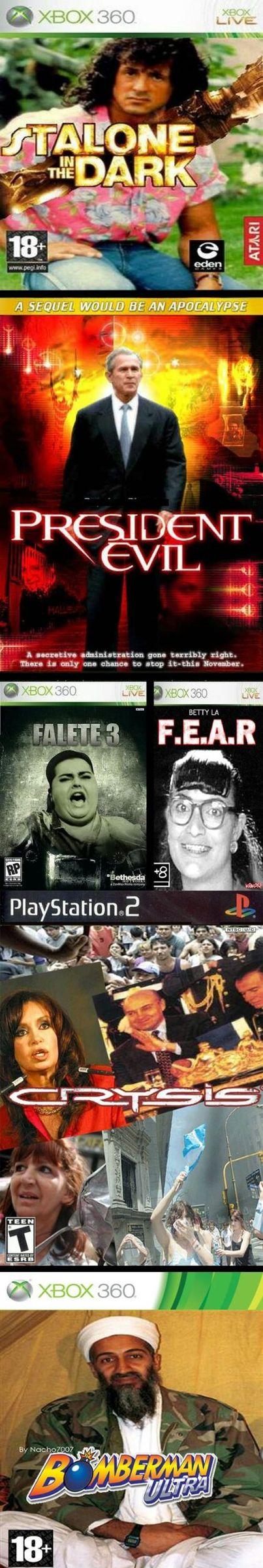videojuegos vistos de otra manera - meme