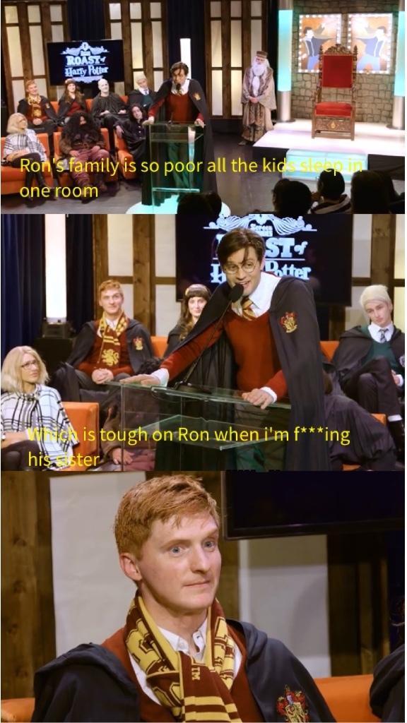 Harry Potter and the Sorcerer's Roast - meme