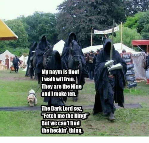 Heckin hobbits - meme