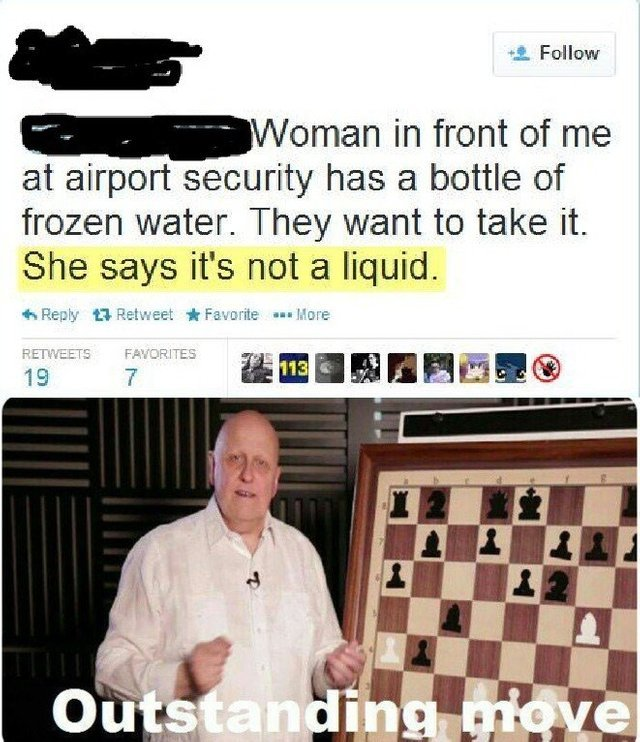 Airport security - meme