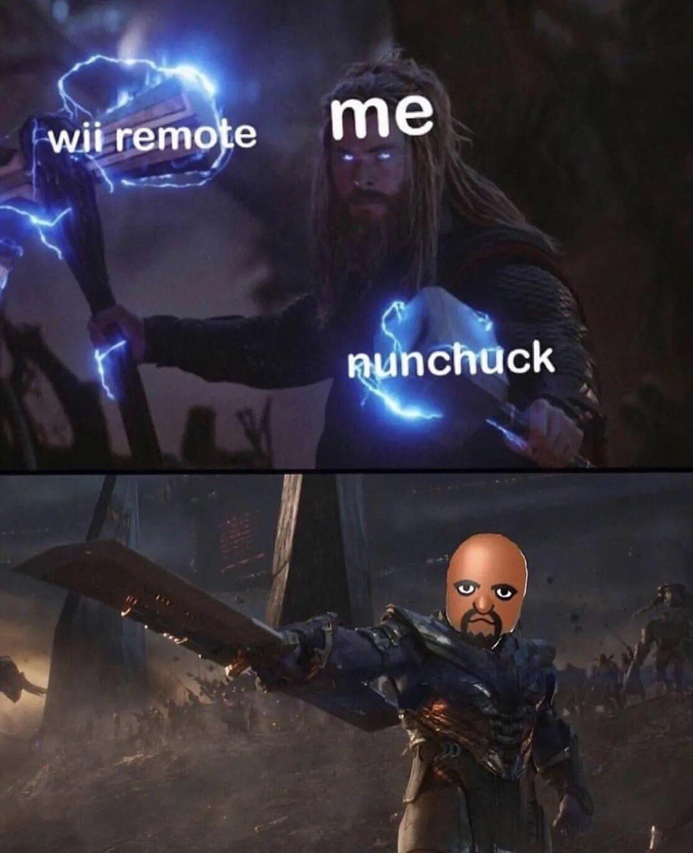 I'm Matt from Wii Sports - meme