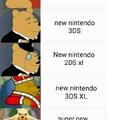 Nintendo y sus portátiles xd a mi gustan