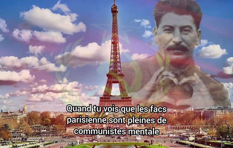 Attention 2nd degré ici je parle des bobos gauchistes sinon : staline - meme