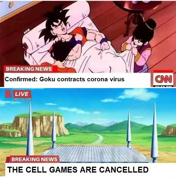 Shame. About cell games not goku - meme
