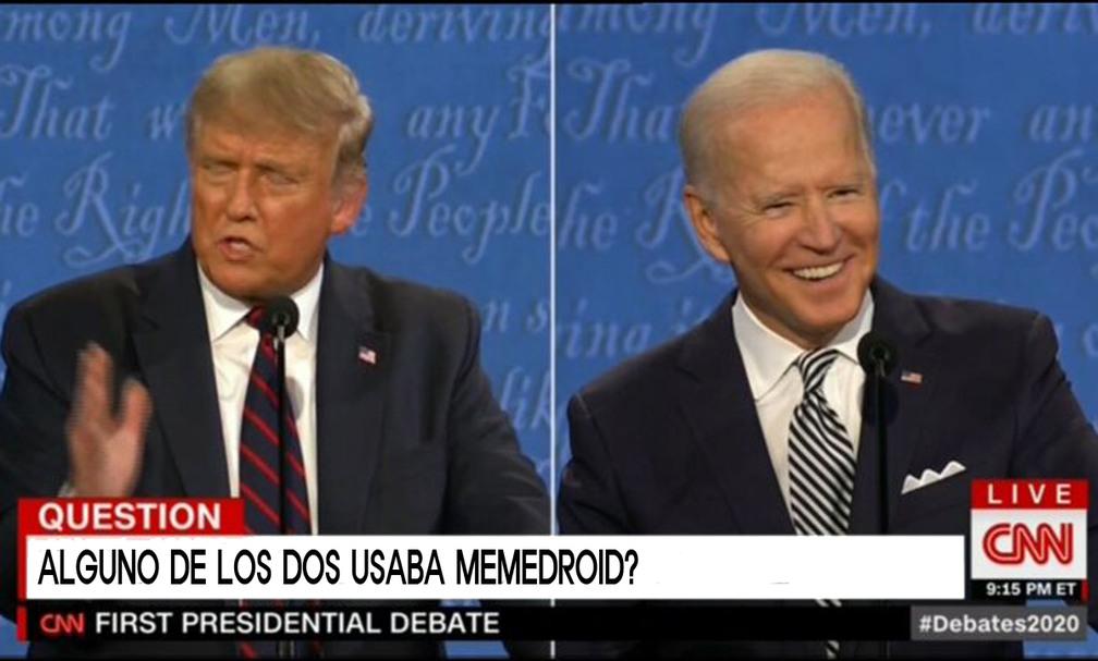 ALGUNO DE LOS DOS USABA MEMEDROID?