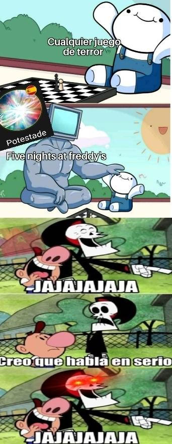 La primera parte del meme lo vi en Memasik
