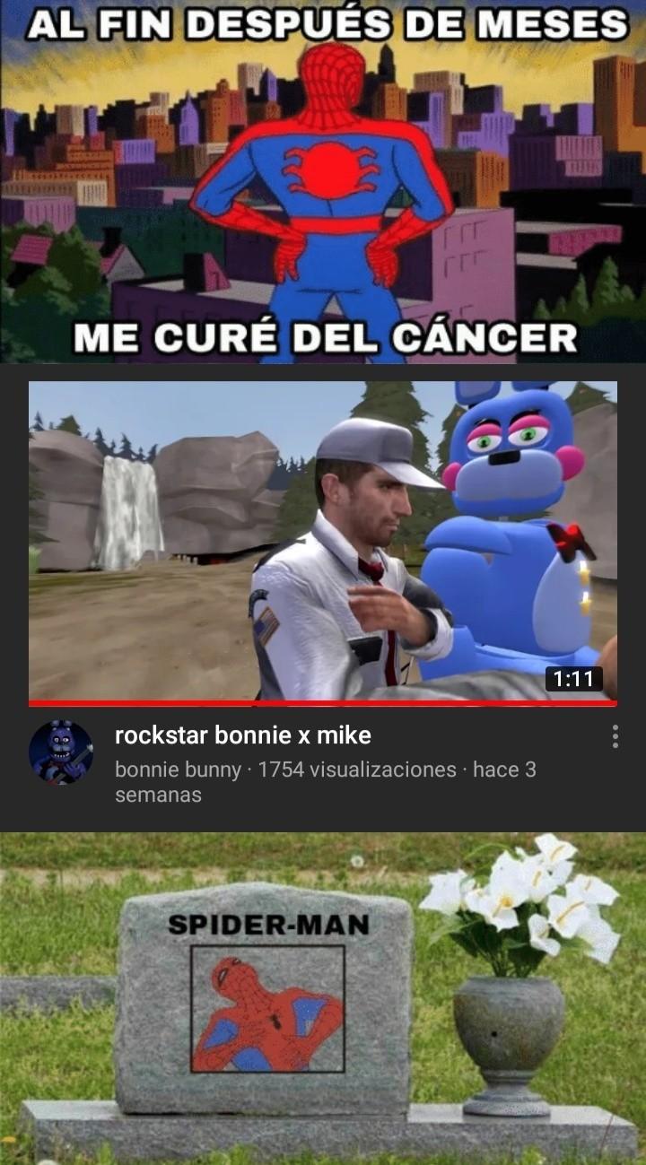 Al título también le dió cáncer - meme