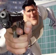 Metroman pistola te protegera del chemsificador cuidalo bien - meme