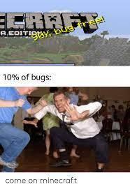minecraft problems list - meme
