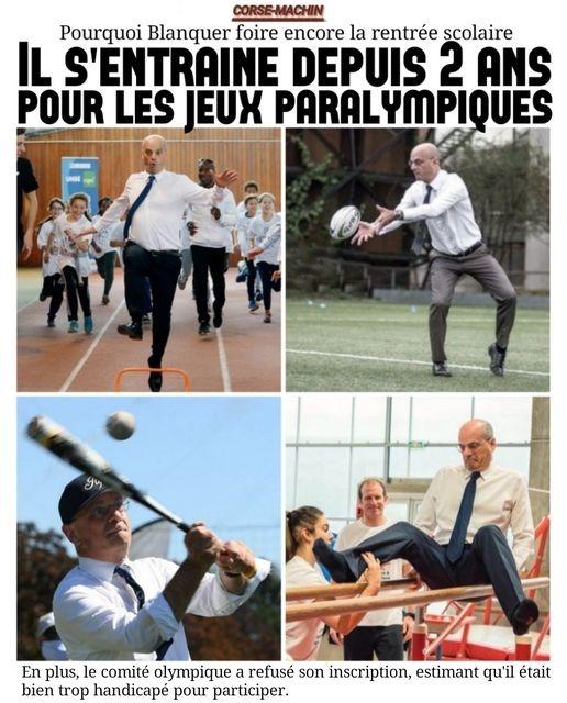 Jeux Paralympiques - meme