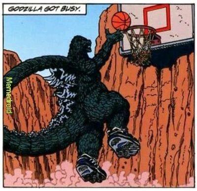Godzilla nigga - meme