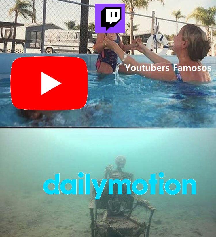 Fuera de broma ¿Quién chucha utiliza Dailymotion? - meme