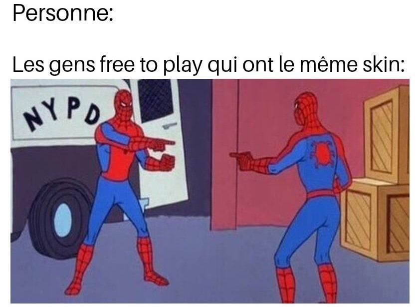Les jeux free to play - meme