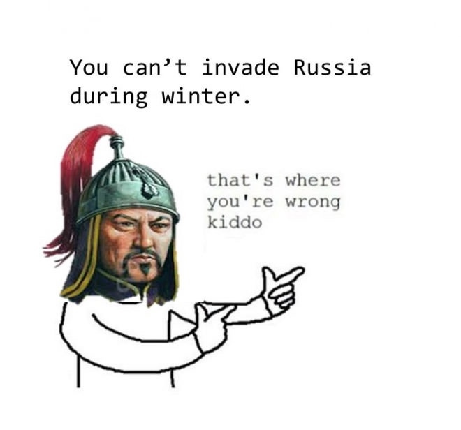 *Proceeds to conquer the rest of Asia - meme