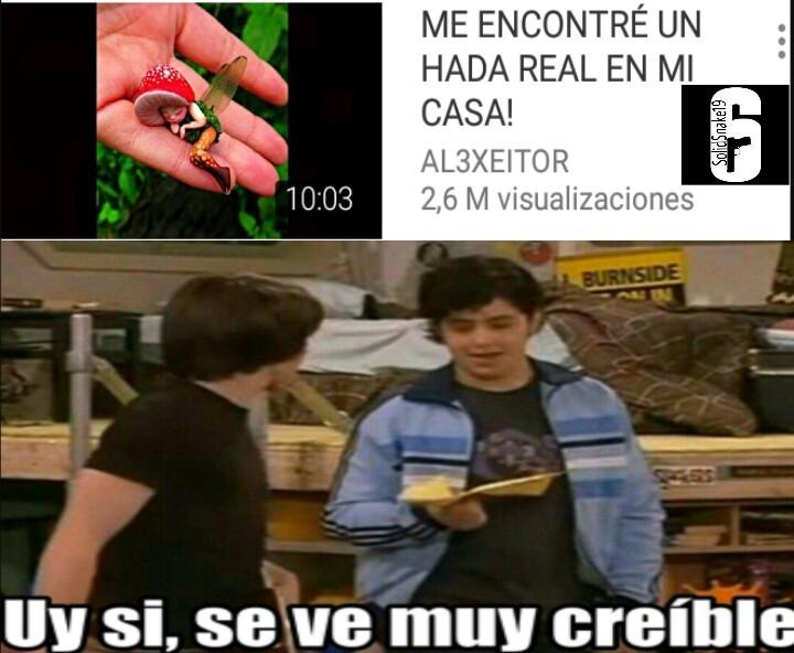 Muy creible... - meme