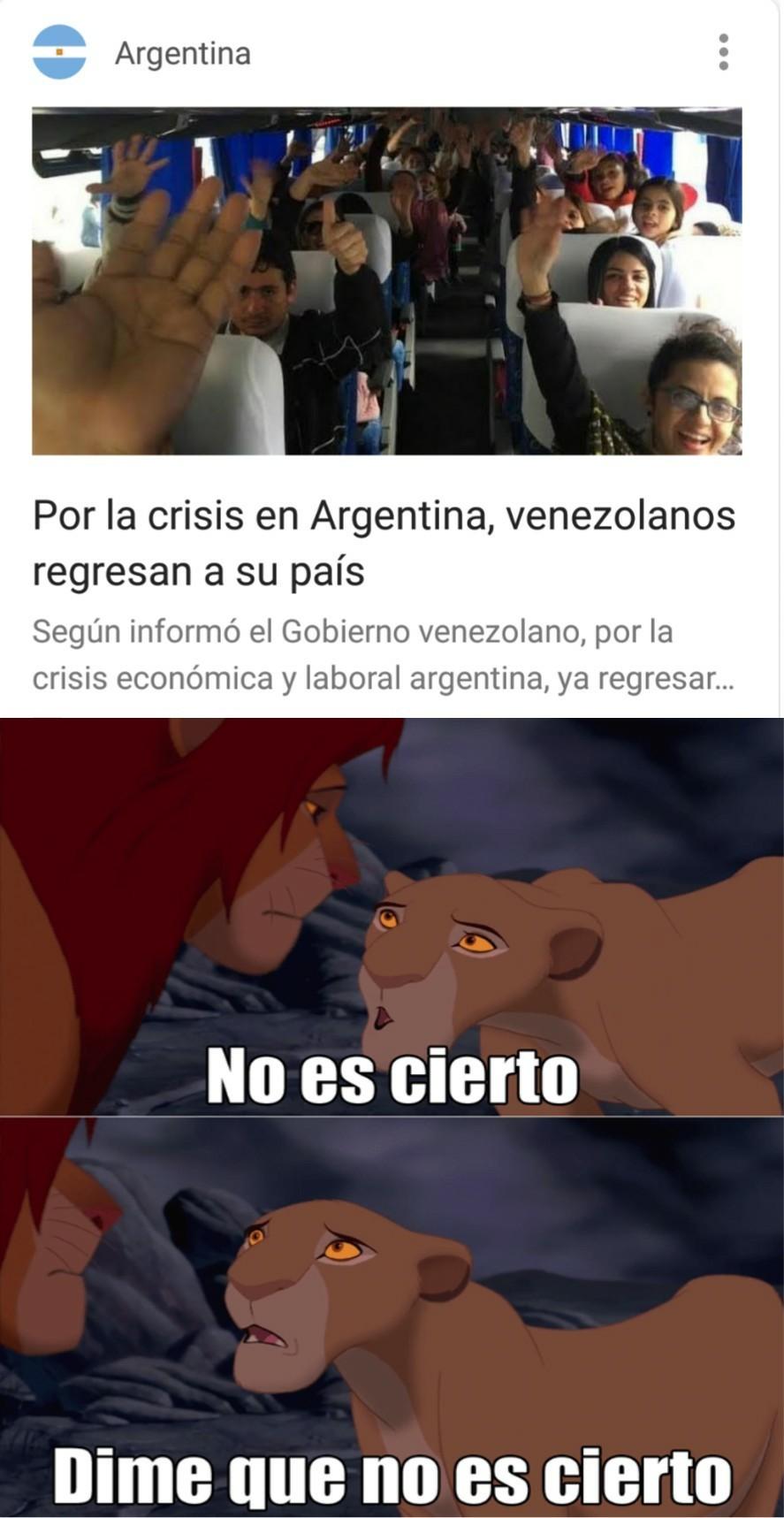 Argentina en 2018 ah - meme