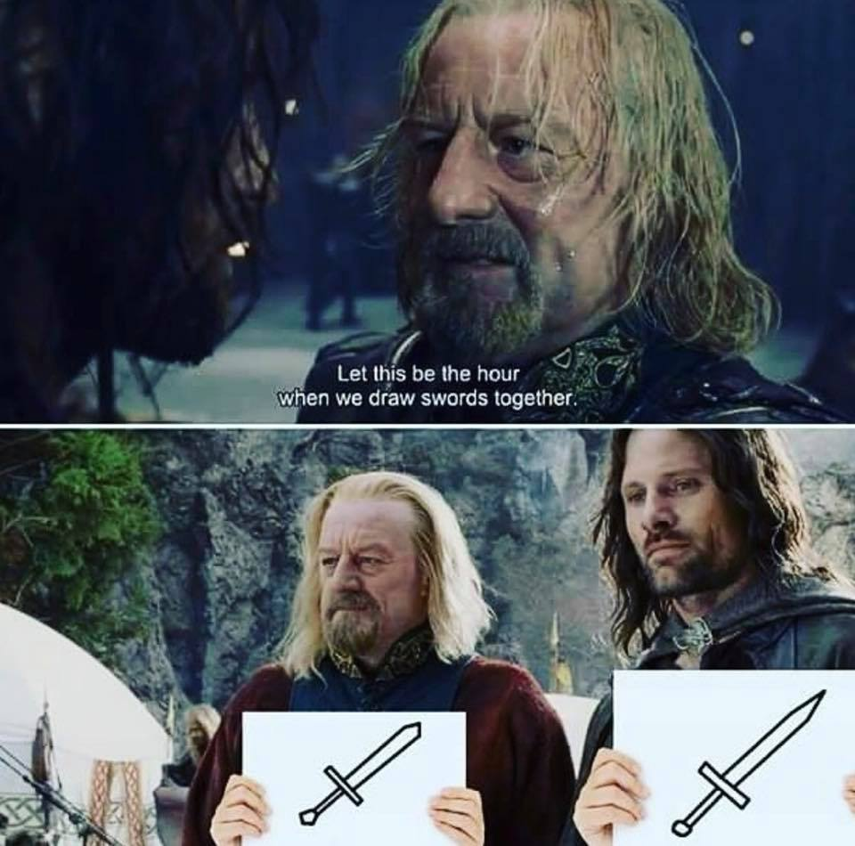 From Teh Lurd Of Teh Rings - meme