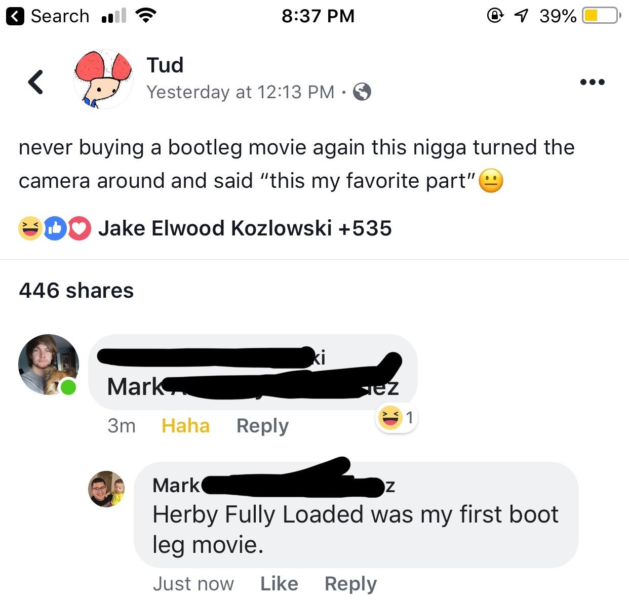 First comment picks title - meme