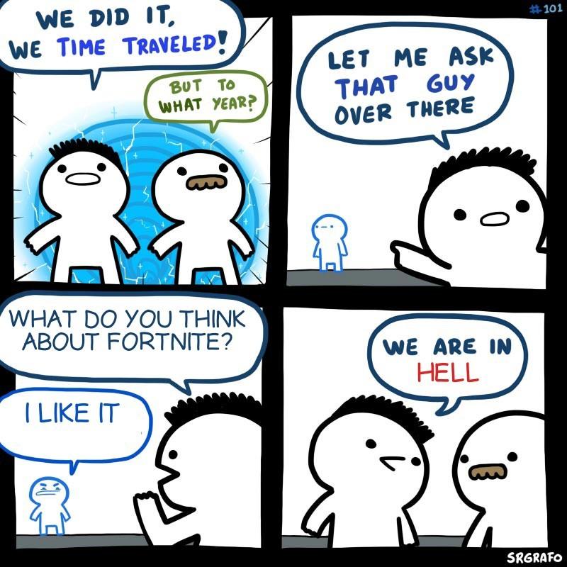 Another fortnite meme