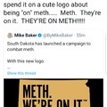 They're on METH