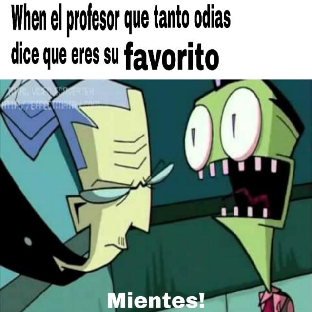 Así estuve con mi profesora de Historia - meme