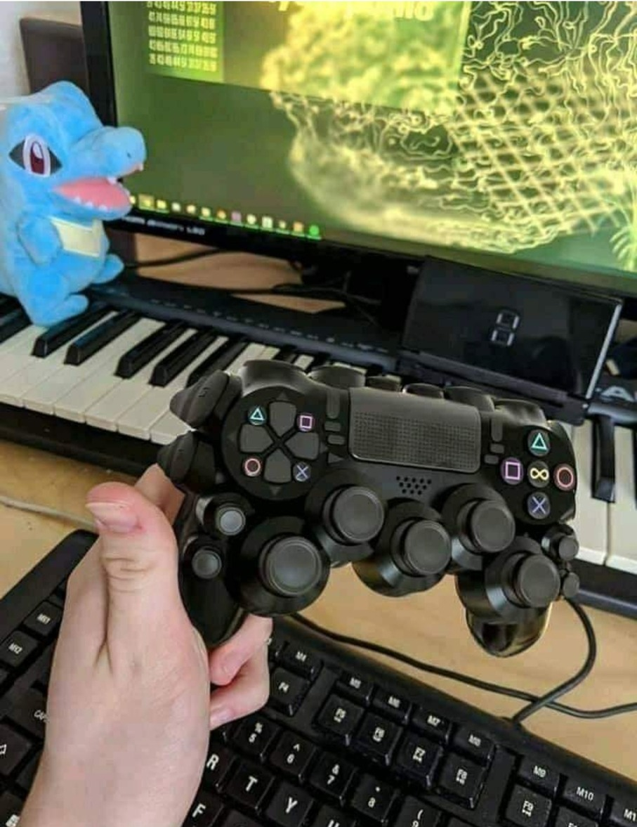 Using a keyboard is so overrated - meme