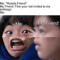 No Bday!