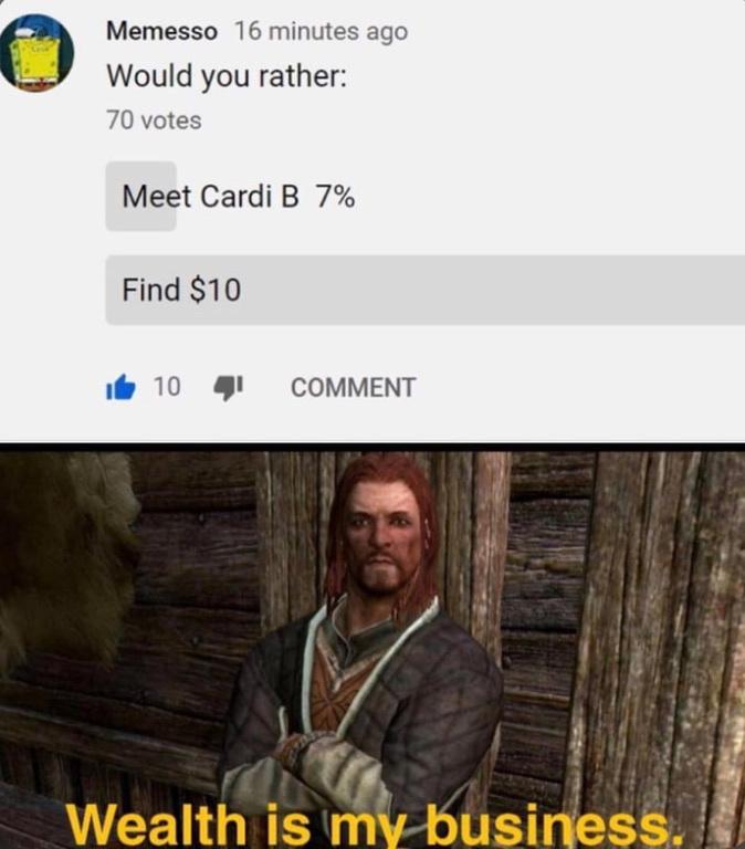 Currently Playing Skyrim - meme