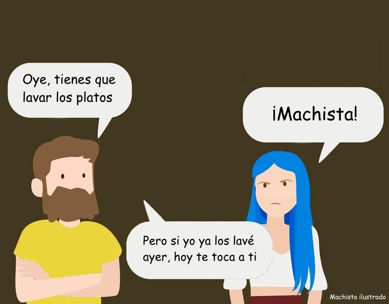 Otro meme de machista ilustrado :really: