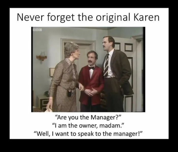 Fawlty Towers - meme