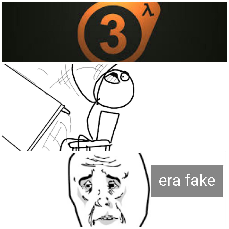 Era fake... - meme
