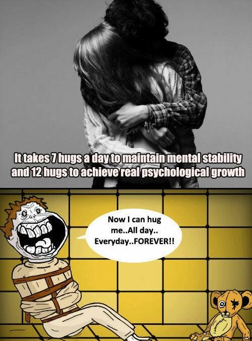 Forever Alone-asylum - meme