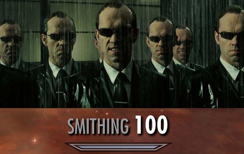 Smithing - meme