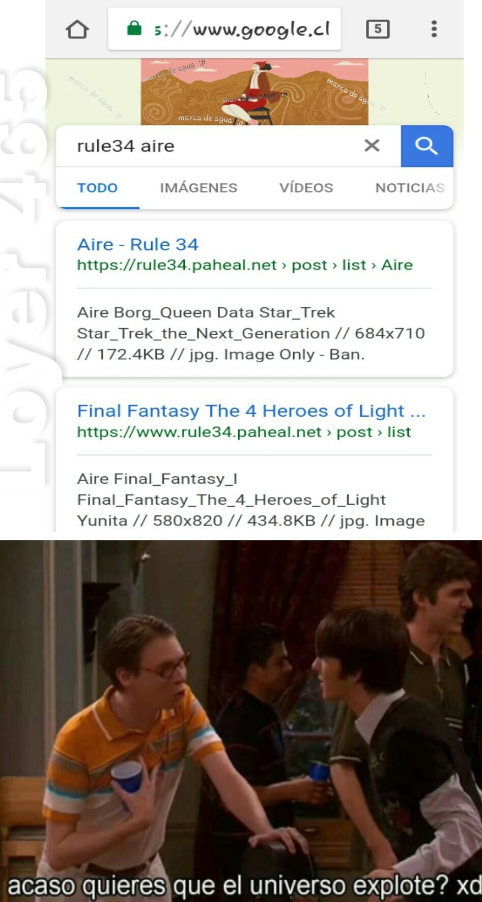Rule 34 aire - meme