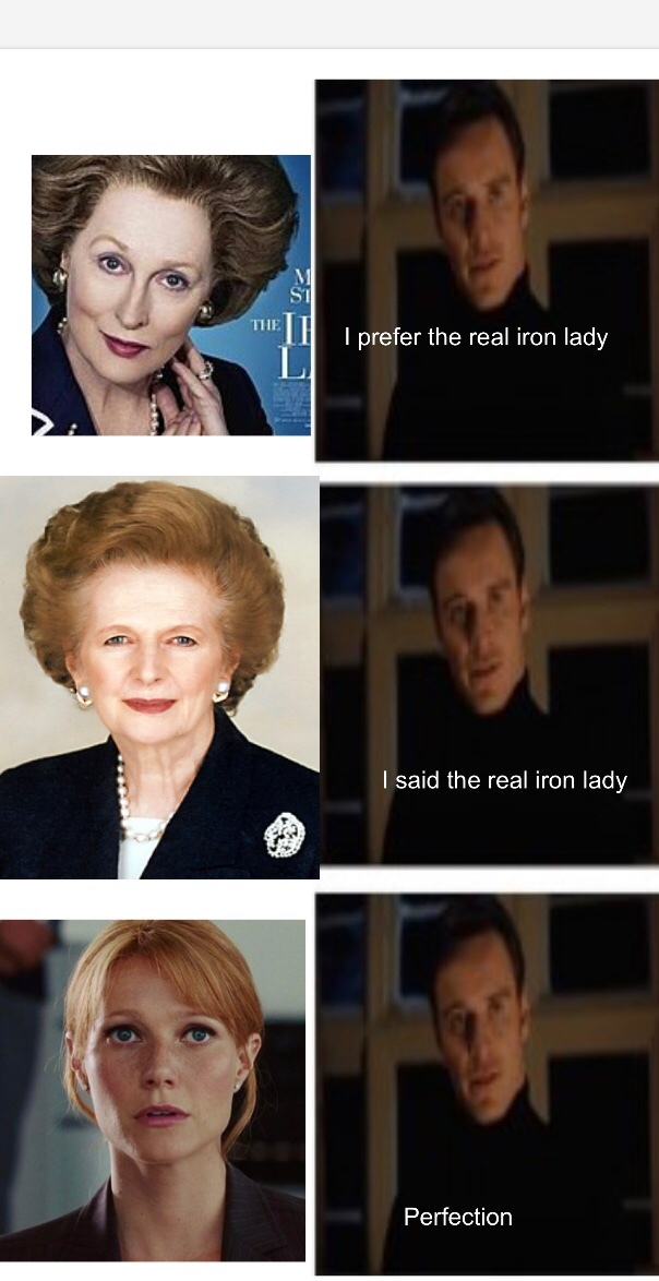 Iron Lady - meme