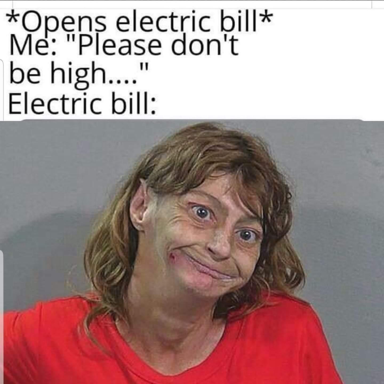 It's shocking - meme