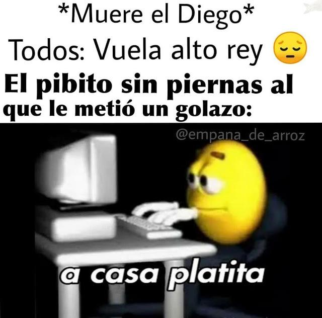 A CASA PLATITA - meme