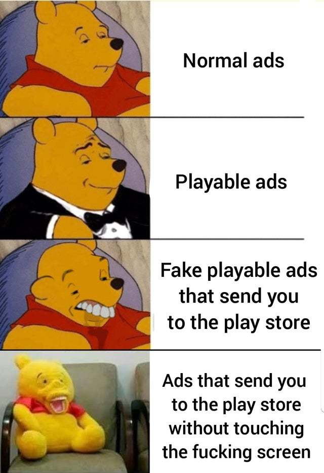 Fucking ads - meme