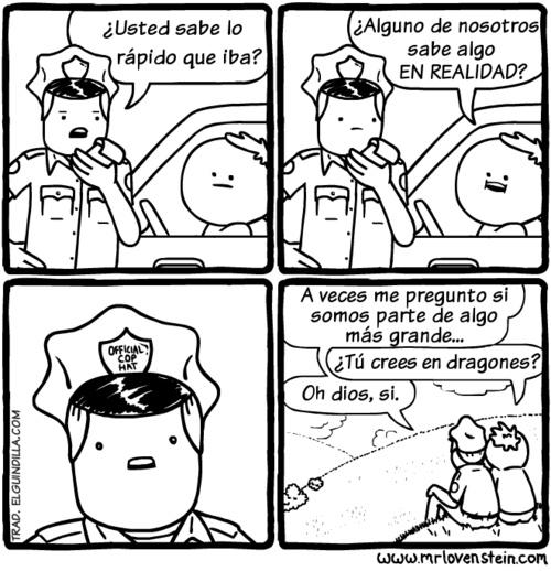Asi chicos es como se hace que un oficial no te arrestre o te de multa - meme