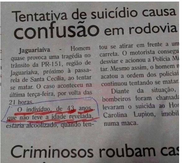 jornais - meme