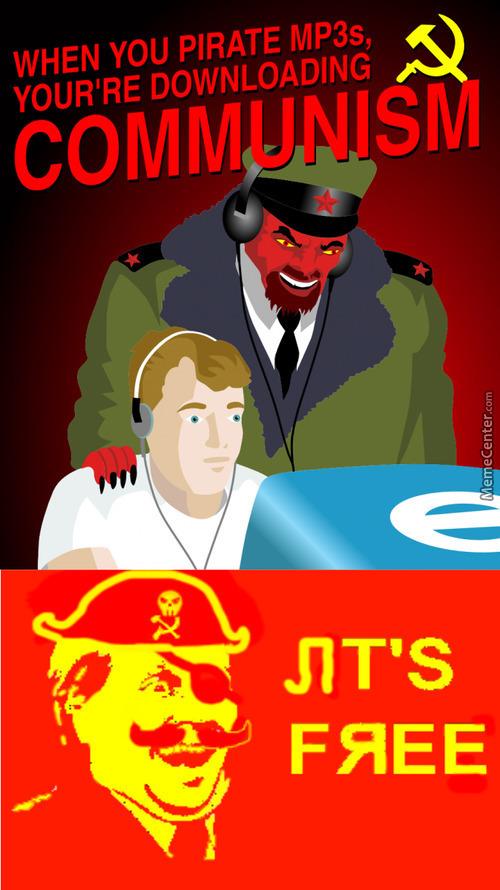 Communism is free - meme