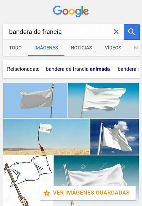 La bandera de francia - meme