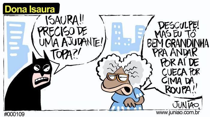 Dona Isaura não sabe oq é bom - meme