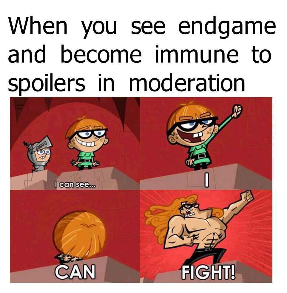 Don't spoil it you fucks! - meme